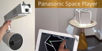 Мини 3D-мэппинг за 5 минут с проекторами Panasonic Space Player